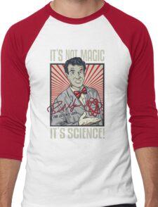 Official Bill Nye - It's Science Shirt Men's Baseball ¾ T-Shirt