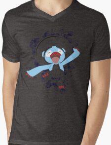 Lombre Splatter Bubble Mens V-Neck T-Shirt