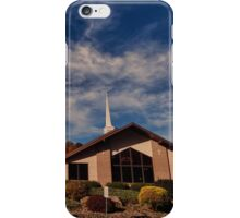 House of Worship iPhone Case/Skin