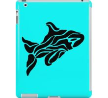 Ink Orca Whale Swimming iPad Case/Skin