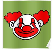 clown funny Poster