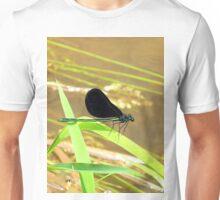 the green damselfly 2 Unisex T-Shirt