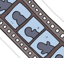 cartoon film strip Sticker
