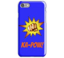 KA-POW! iPhone Case/Skin
