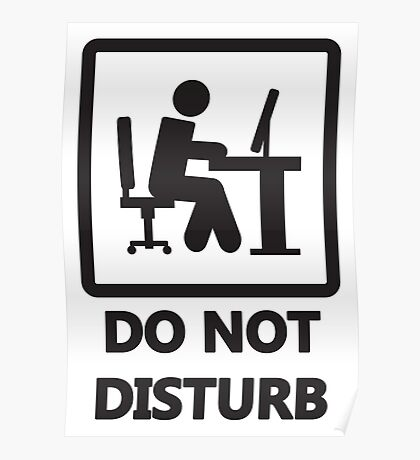 Gaming - DO NOT DISTURB Poster