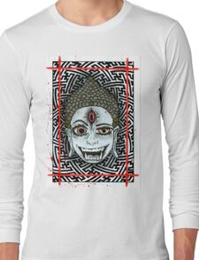 Third eye Budda Long Sleeve T-Shirt