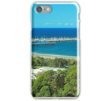 Mutton Bird Island and Jetty, Coffs Harbour iPhone Case/Skin