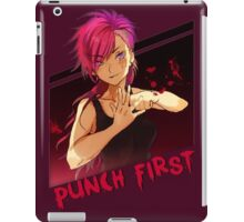 Punch First VI iPad Case/Skin