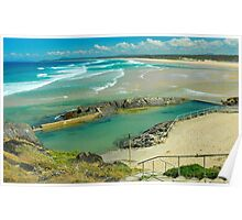 Sawtell Memorial Rock Pool Poster