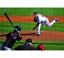 Braves VS Yankees Disney World March 2013 Photographic Print