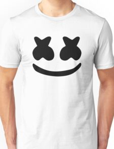 Marshmello Black Unisex T-Shirt
