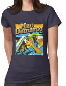 Mac - Cigarette Womens Fitted T-Shirt
