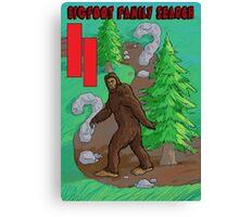 Bigfoot Family Search Atari 2600 Canvas Print