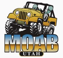 MOAB, Utah - Funny 4x4 Aliens by robotface