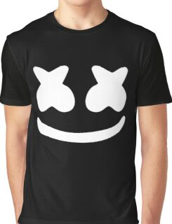 Marshmello White Graphic T-Shirt
