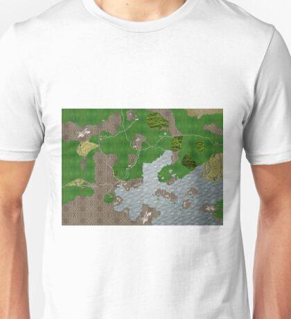 Midgard Map Unisex T-Shirt