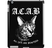 ACAB.  iPad Case/Skin