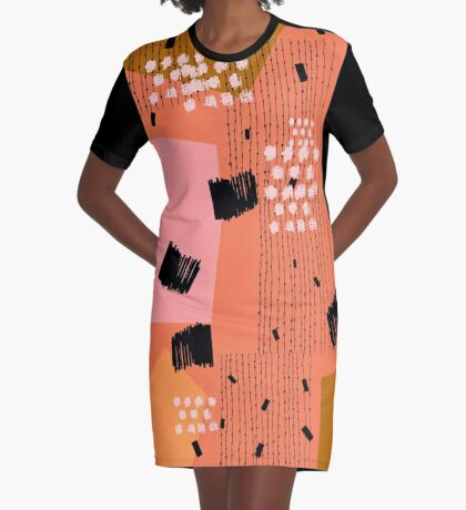 Clementine Graphic T-Shirt Dress