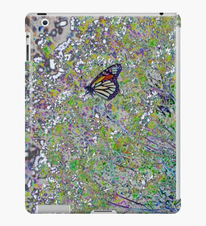 Colourful Stained Glass Butterfly - Abstract iPad Case/Skin