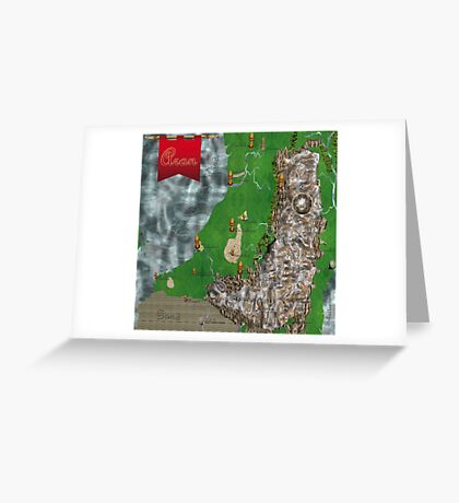 RPG Map Greeting Card