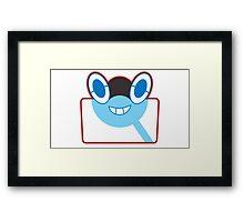 Rottom Pokedex - Pokemon Sun and Moon Framed Print