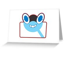 Rottom Pokedex - Pokemon Sun and Moon Greeting Card