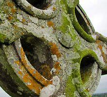 Celtic Cross Headstone by jrhall19