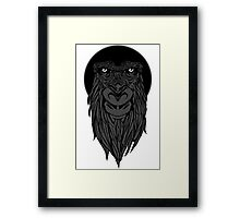 Bearded Apes Framed Print