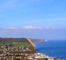 Overview of Sidmouth Sticker