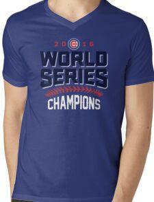 Chicago Cubs World Series Champions 2016 Mens V-Neck T-Shirt