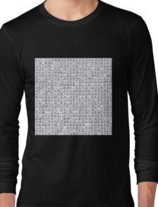 Find the retro techno..... Long Sleeve T-Shirt