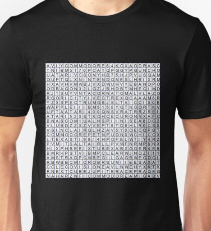 Find the retro techno..... Unisex T-Shirt