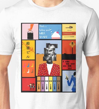Tarantino, portrait de Tarantino Unisex T-Shirt