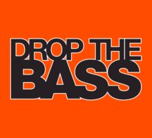Drop The Bass 03 (Outlined) Kids Clothes