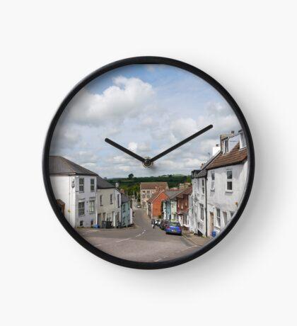 Castle Street Axminster Devon UK Clock