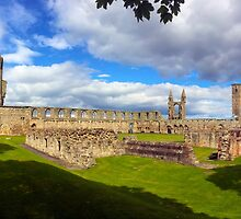 St Andrews Cathedral by jrhall19