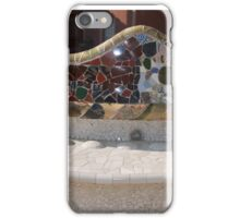 Park Güell Benches iPhone Case/Skin