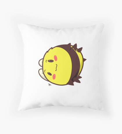 Precious Bee Throw Pillow