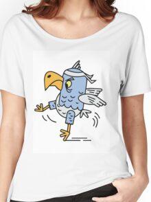 Karate fighting bird Women's Relaxed Fit T-Shirt