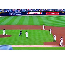 Braves Turner Field Atlanta Jackie Robinson Day Photographic Print