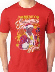 Kobe Bryant Merry Swishmas Tee Unisex T-Shirt