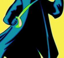 Zorro Pop Art Sticker