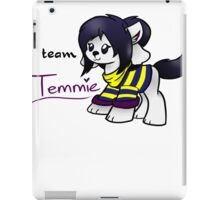Temmie College Team iPad Case/Skin