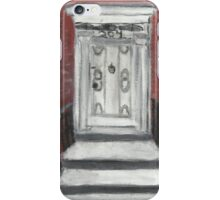 204 Washington Square,NYC iPhone Case/Skin