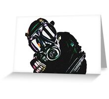 Military Man Greeting Card