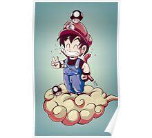 Goku-Mario Poster