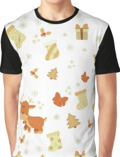 Christmas Joy Pattern Graphic T-Shirt
