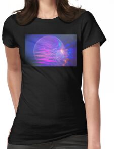 Nautical Light Rays Womens Fitted T-Shirt