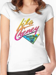Lila Cheney Milky Way Tour '86 Women's Fitted Scoop T-Shirt