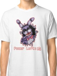 FIVE NIGHTS AT FREDDY'S-Bonnie- Power Left 0% Classic T-Shirt
